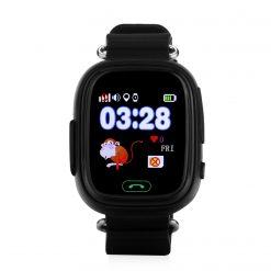 GW100 - GPS-klocka för barn - Svart
