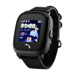 GW400S - Vattentät GPS-klocka för barn - Svart