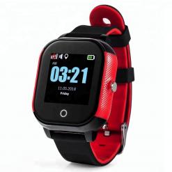 GW700S - GPS ur til børn - rød/sort