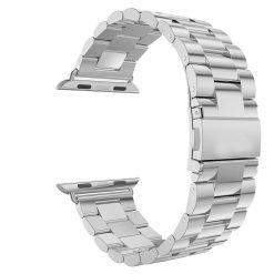 Alza - Rem för Apple klocka i rostfritt stål 42/44mm - Silver