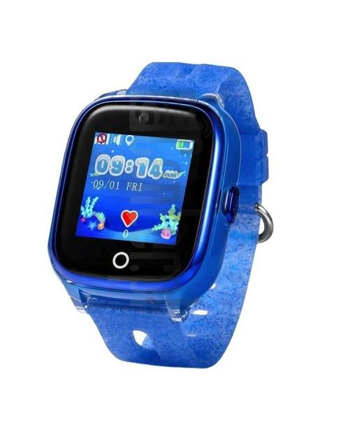 KT01 - Vandtæt GPS ur til børn med 2MP kamera - Blå