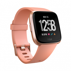 Fitbit - Versa Smart Watch - Grå Silver