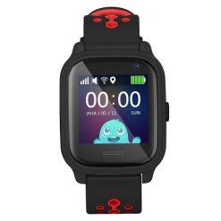 KT04 - Vattentät GPS-klocka för barn - Svart