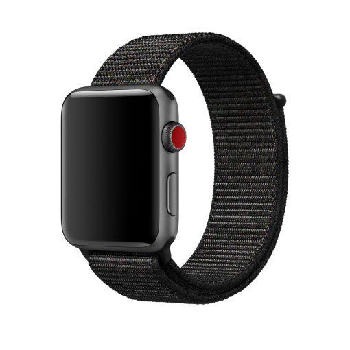 Nylonrem till Apple Watch 42/44 Mm - Svart