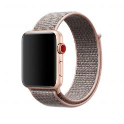 Nylonrem för Apple Watch 42/44 mm - Rosa