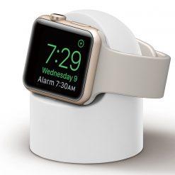 Mini laddningshållare för Apple watch - Vit