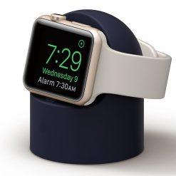 Mini laddningshållare för Apple watch - Svart