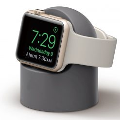 Mini laddningshållare för Apple watch - Grå