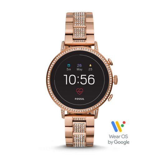 Fossil - GEN. 4. Smartwatch - VENTURE HR Rosen Guld
