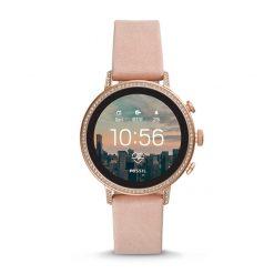 Fossil - GEN. 4. Smartwatch - VENTURE HR Ros Läder