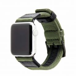 Abra - Nylonrem för Apple Watch 38/40 mm - Grön