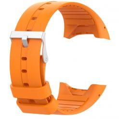 Silikonrem för Polar M400/M430 - Neon Orange