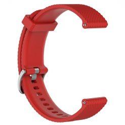 Silikonrem för Polar Vantage M - Röd
