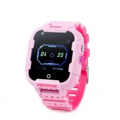 KT12 - Robust barns GPS-klocka med Videosamtal - Rosa