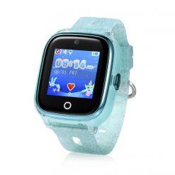KT01 - Vattentät GPS-klocka för barn med 2MP-kamera - Turkos