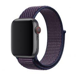 Vizore - Nylonrem för Apple Watch 38/40 mm - Indigo