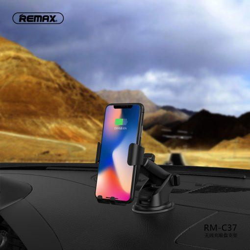 Remax - C37 trådlös billaddare