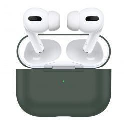 Skal till Apple AirPods Pro -Silikon - Midnattsgrön