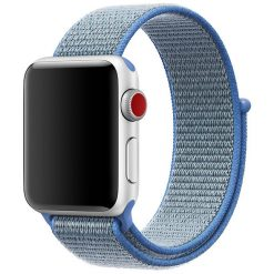 Apple Watch Nylon Rem 38/40 Mm - Blå