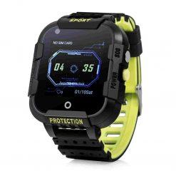 KT12 - Robust barn GPS-klocka med Videosamtal - Svart