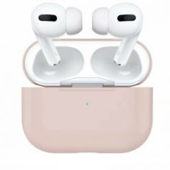 Skal till Apple AirPods Pro -Silikon - Rosa Sand