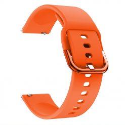 Gilby - Silikonrem 22 mm - Orange