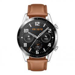 Huawei Watch GT 2 - Silver / Brun
