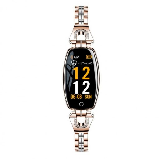 Lemfo H8- Elegant Sportswatch - Rosa Gold