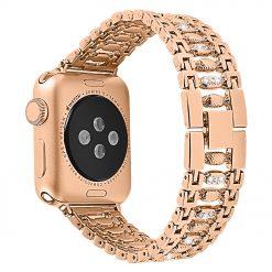 Florens - Rostfritt stål Rem för Apple watch 38/40 - Svart