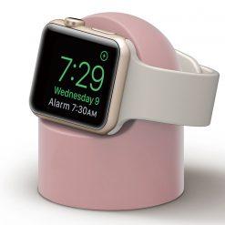 Mini laddningshållare för Apple watch - Rosa