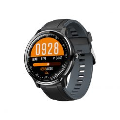 SN80 - Full Touchscreen Sports Watch - Svart/Grön
