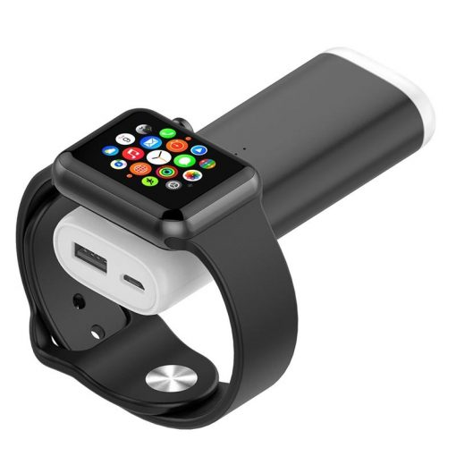 Powerbank för Apple Watch - Svart