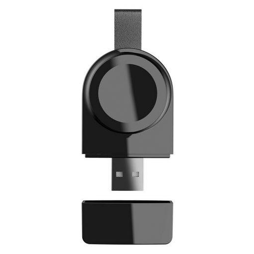 Mini bärbar USB-laddare för Apple Watch-Svart