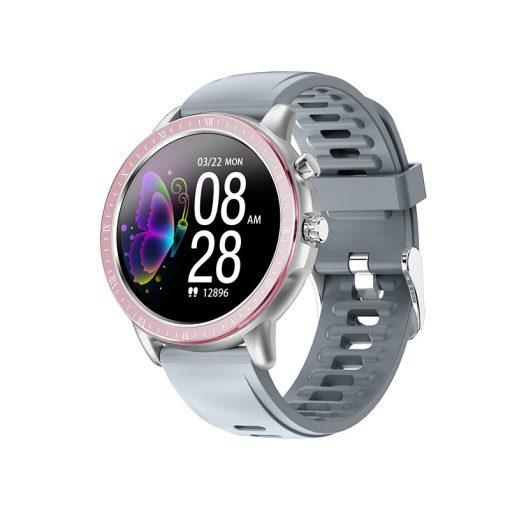 Lemfo - SG2 Smartwatch med amoled skärm - Rosa