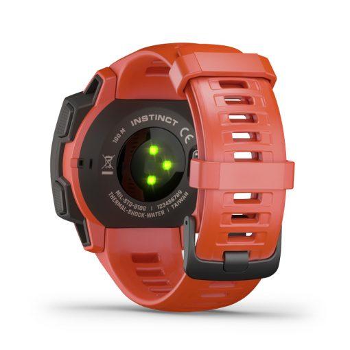 Garmin Instinct GPS sportklocka - Röd