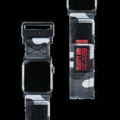 UAG Aktiv nylonrem för Apple Watch 38/40 Mm - Midnight Camo