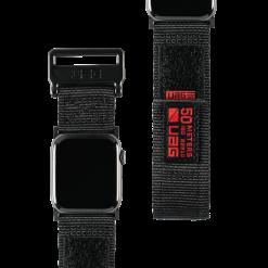 UAG Aktiv nylonrem för Apple Watch 38/40 Mm - Svart