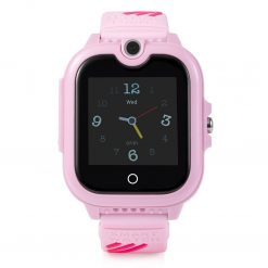 KT13 - 4G GPS-barnklocka med kamera - Rosa