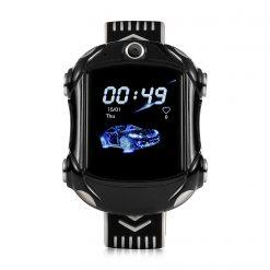 KT14 - 4G barns GPS-klocka med bil-look - Blå
