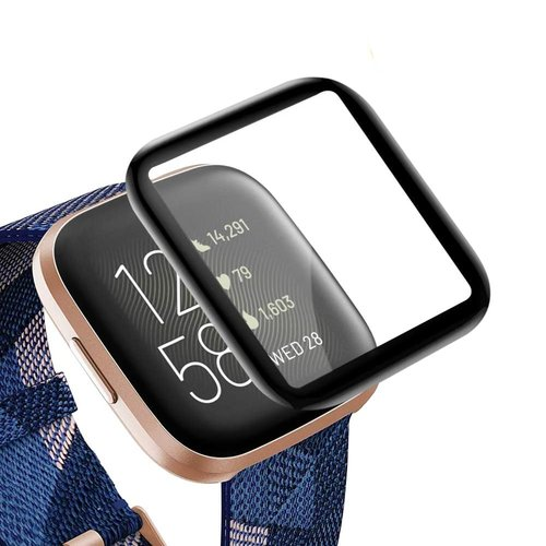 Fitbit Versa 2 - Härdat glas 3D-styrka 9H