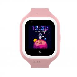KT21- 4G GPS-barnklocka - videosamtal och klockhus av silikon-Rosa