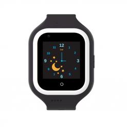 KT21- 4G barns GPS-klocka - videosamtal och silikon klockhus - Svart