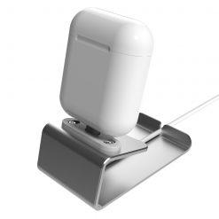 Laddningsställ för Apple AirPods - Silver