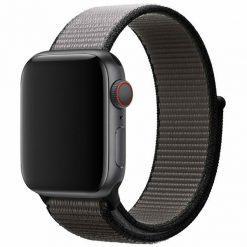 Tvåfärgad - Nylonrem för Apple Watch 42/44 mm - Grå