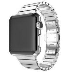 Link - Rostfritt stål rem för Apple Watch- 42/44 mm - Silver
