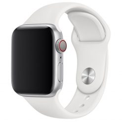 Apple Watch Silikonrem 38/40 Mm - Ris-vit