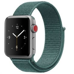 Vizore - Nylonrem för Apple Watch 38/40 mm - Furu-grön