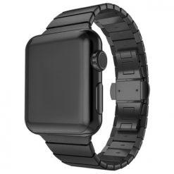 Link - Rem i rostfritt stål för Apple Watch - 42/44 mm - Svart