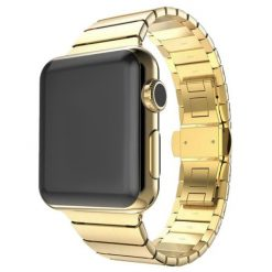 Link - Rem i rostfritt stål för Apple Watch -42/44 mm - Guld