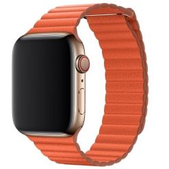 Läder loop -Apple Watch Läderrem- 38/40 mm - Orange